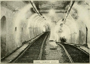 La Tremont Street Subway di Boston - 1897